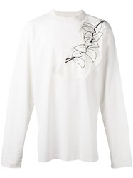 Damir Doma Patched T Shirt White