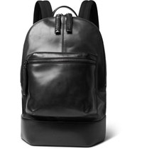 Berluti Leather Backpack Black