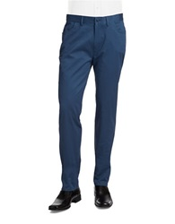 Vince Camuto Stretch Cotton Chino Pants Ensignia Blue