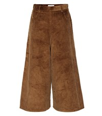See By Chloe Corduroy Culottes Brown