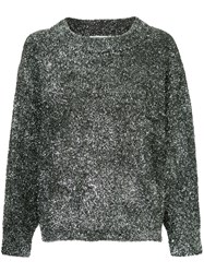Georgia Alice Sparkle Oversized Jumper Metallic