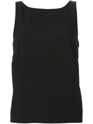 Red Valentino Back Bow Top Black