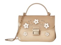 Furla Candy Lilla Sugar Mini Crossbody Acero Petalo Cross Body Handbags Beige