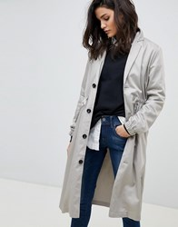 G Star Relaxed Trench Coat Brown
