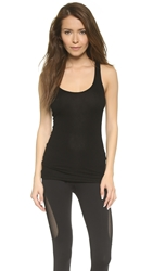 Splits59 Ashby Rib Racer Back Performance Tank Black