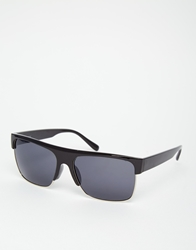 A. J. Morgan Aj Morgan Visor Sunglasses Black