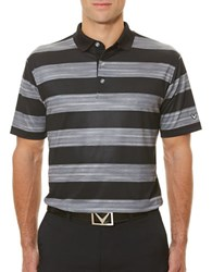 Callaway Golf Performance Space Dyed Polo Caviar