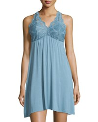 Fleurt Take Me Away Lace Racerback Chemise Women's