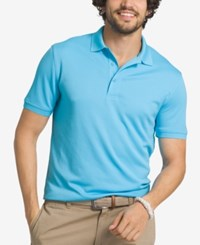 G.H. Bass And Co. Men's Solid Performance Polo Aquarius