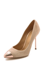 Sergio Rossi Lady Jane Pumps Nude