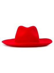 Forte Forte Fedora Hat Red