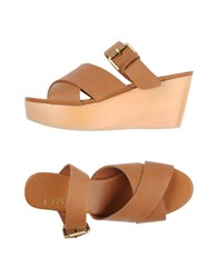F Troupe Sandals Brown