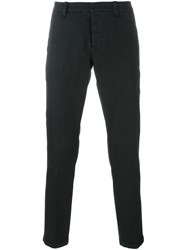 Dondup Straight Trousers Blue