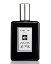 Dark Amber And Ginger Lily Oil 100Ml Jo Malone London