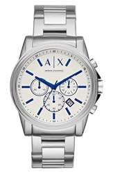 Armani Exchange Men's Ax Chronograph Bracelet Watch 44Mm