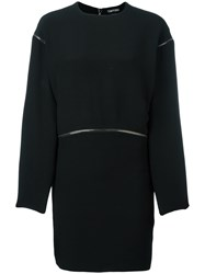 Tom Ford Sweater Dress Women Silk 38 Black