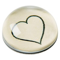 Line Heart Paperweight