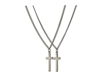 Dsquared Double Cross Necklace