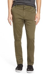 Men's Boss Orange 'Sandrew1 D' Tapered Fit Chinos Green