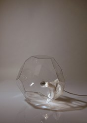 Innermost Asteroid Glass Table Floor Lamp