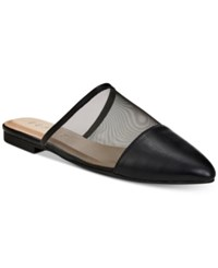 Esprit Maggie Pointed Toe Mules Black