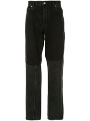Martine Rose Two Piece Jeans Black