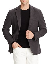 Polo Ralph Lauren Stretch Cotton Blazer Charcoal