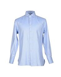 Alain Shirts Shirts Men Sky Blue