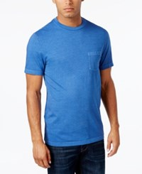 Club Room Men's Heathered T Shirt Only At Macy's Bright Cobalt