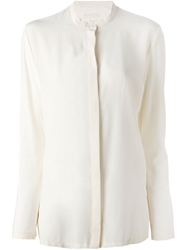 Woolrich Long Sleeve Blouse Nude And Neutrals