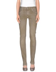 Jcolor Denim Denim Trousers Women Khaki