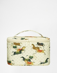 Paul And Joe Horses Vanity Bag Horseprint