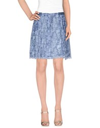 Trussardi Jeans Skirts Knee Length Skirts Women Azure