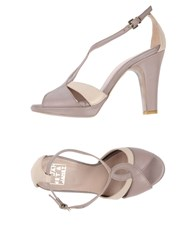 Janet And Janet Sandals Dove Grey