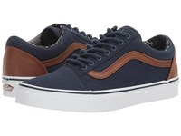 Vans Old Skool Candl Dress Blues Material Mix Skate Shoes
