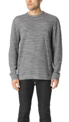 Naked And Famous Long Sleeve Double Faced Shirt Charcoal