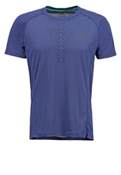 Asics Fujitrail Ultra Sports Shirt Deep Cobalt Blue