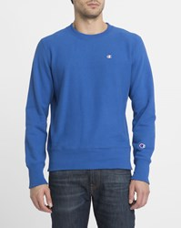 Champion Royal Blue Classic Logo Sweatshirt
