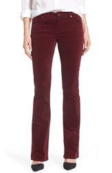 Kut From The Kloth Baby Bootcut Corduroy Jeans Deep Burgundy