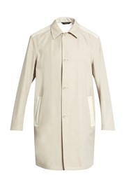 Calvin Klein Bi Colour Wool Blend Coat Beige