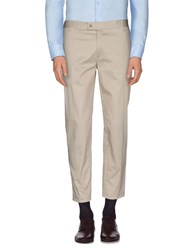 Alice San Diego Trousers Casual Trousers Men Beige