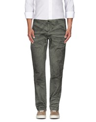 Iceberg Trousers Casual Trousers Men Military Green