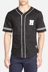 Duke Hendricks 'Saxon' Baseball Jersey Black