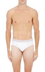 Hanro Men's Two Pack Jersey Briefs White