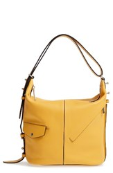 Marc Jacobs The Sling Leather Hobo Yellow Canary