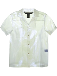Marc By Marc Jacobs 'Cluster Cellophane' Shirt White