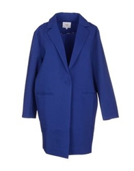 Suncoo Full Length Jackets Blue