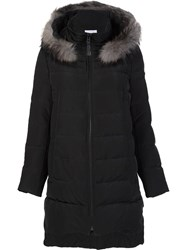 Derek Lam 10 Crosby Hooded Padded Coat Black