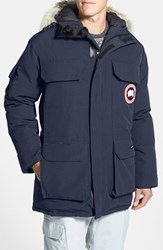 Men's Canada Goose 'Expedition' Relaxed Fit Down Parka Navy