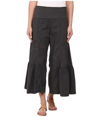 Xcvi Cropped Side Tier Palazzo Moonrock Women's Casual Pants Multi